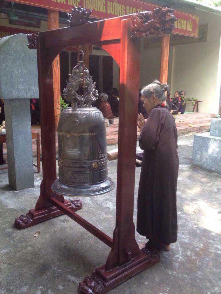 Đúc chuông đồng đình chùa miếu
